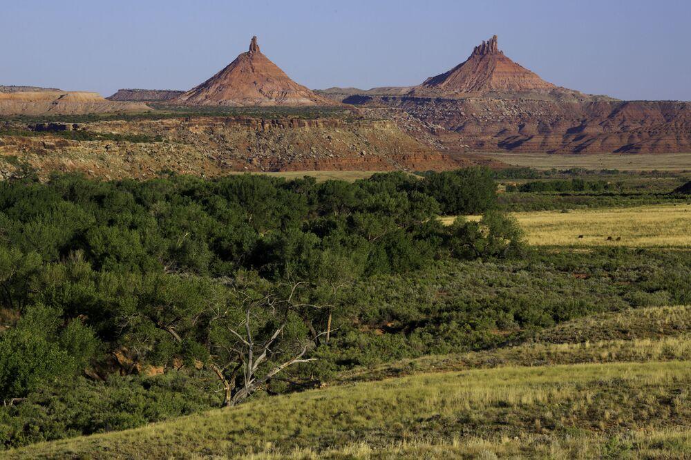 ABD'nin Utah eyaletindeki Ayının Kulakları Ulusal Parkı