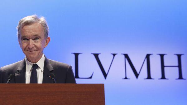 LVMH(Louis Vuitton-Moët Hennessy) grubunun başkanı ve CEO'su Bernard Arnault - Sputnik Türkiye