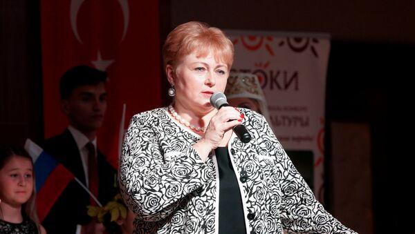 İstoki Uluslararası Festivali Başkanı Yekaterina Sergeyeva - Sputnik Türkiye