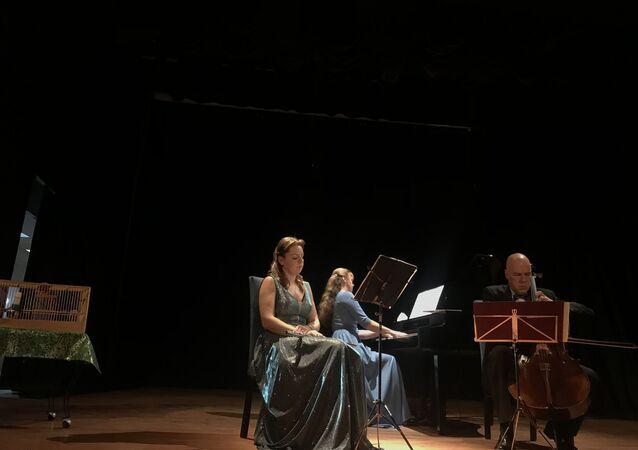 """""""Flüt, Çello, Piyano ve Ötücü Kuşlar"""" festivali sona erdi"""