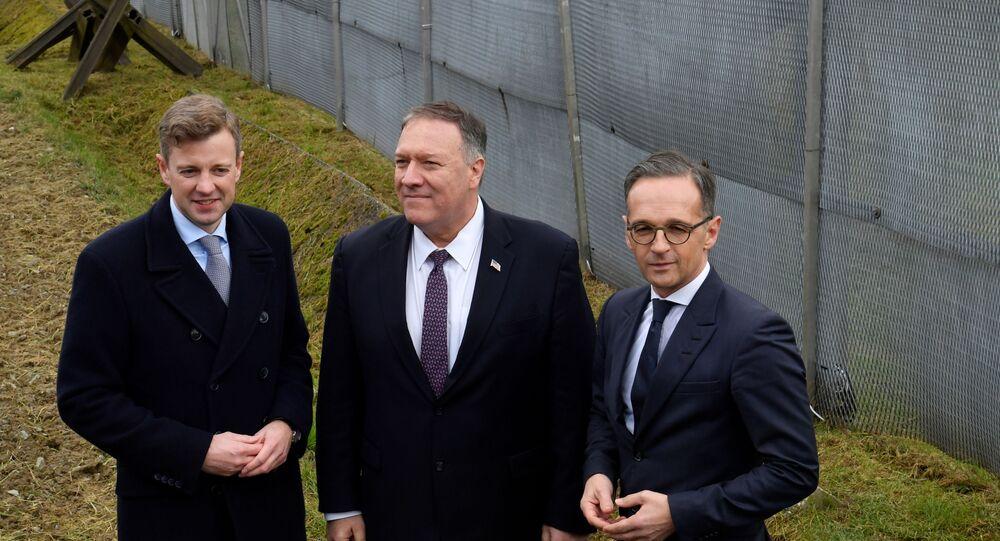 ABD Dışişleri Bakanı Mike Pompeo ve Almanya Dışişleri Bakanı Heiko Maas