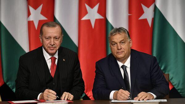 Erdoğan, Orban - Sputnik Türkiye