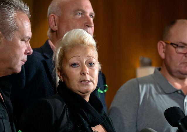 Amerikalı diplomat eşinin, trafik kazasında ölümüne neden olduğu İngiliz gencin ailesi