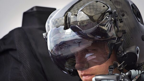 F-35, pilot, kask - Sputnik Türkiye