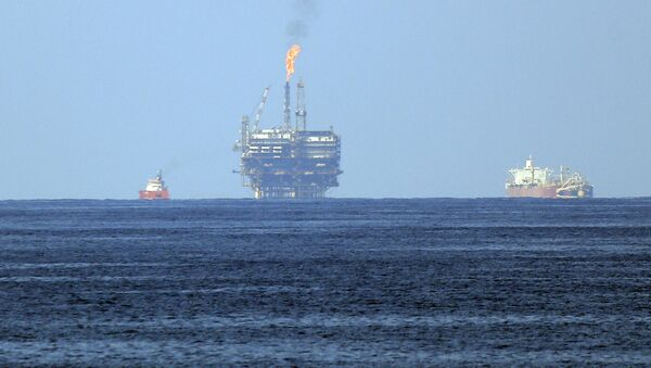 Mısır karasularında doğalgaz sahası  - Sputnik Türkiye