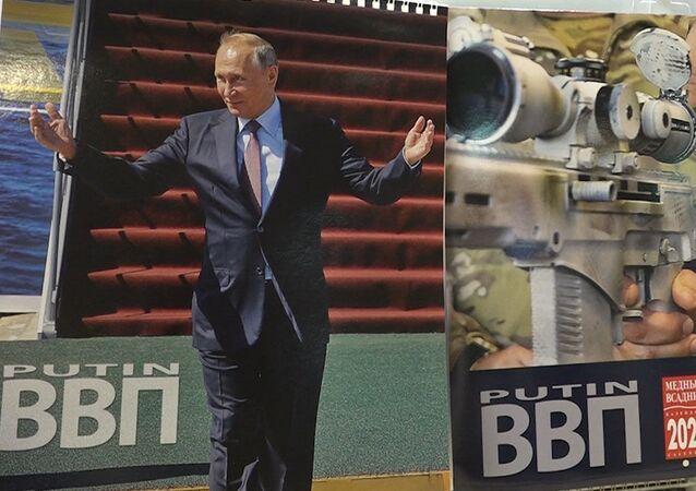 Putin takvimleri Japonya'da rekor kırıyor