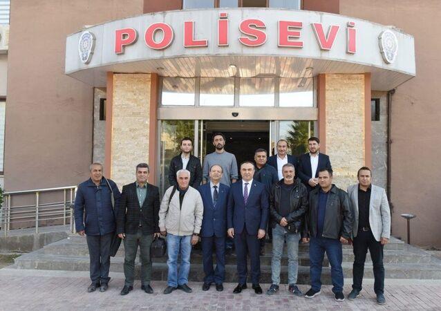 Kilis Valisi Recep Soytürk, yerel basın mensuplarıyla buluştu