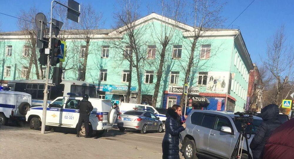 Rusya'nın Blagoveşensk kentinde bir kolejde 19 yaşındaki öğrenci ateş açtı. Olayda bir kişi öldü, saldırgan da intihar etti. Üç kişi de yaralandı.