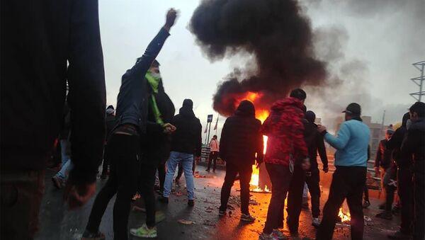 İran'da protestolar - Sputnik Türkiye