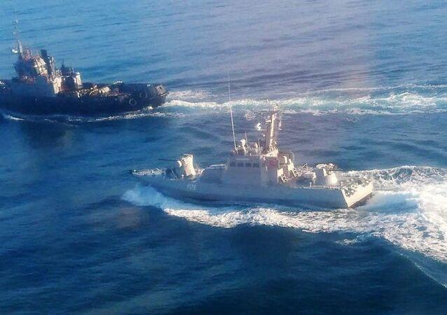 Kerç Boğazı'nı geçmeye çalışan Ukrayna donanmasından gemiler