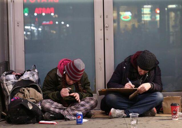 ABD'deki evsizler