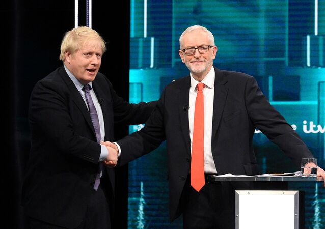 İngiltere'de liderlerin televizyondaki seçim tartışmasına Brexit damgası