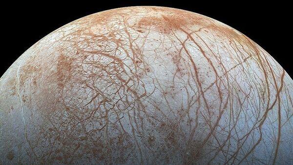 Jüpiter'in uydusu Europa - Sputnik Türkiye