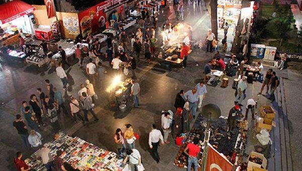 Ankara, akşam pazarı - Sputnik Türkiye