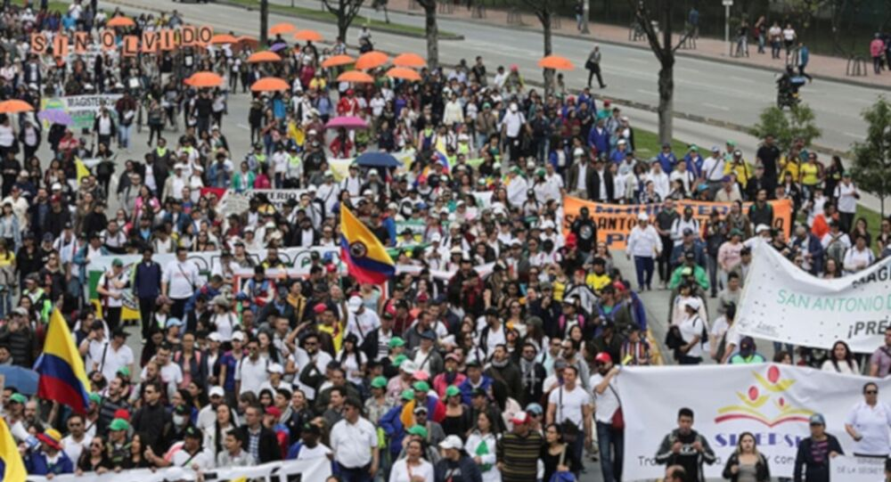 Kolombiya genel grev