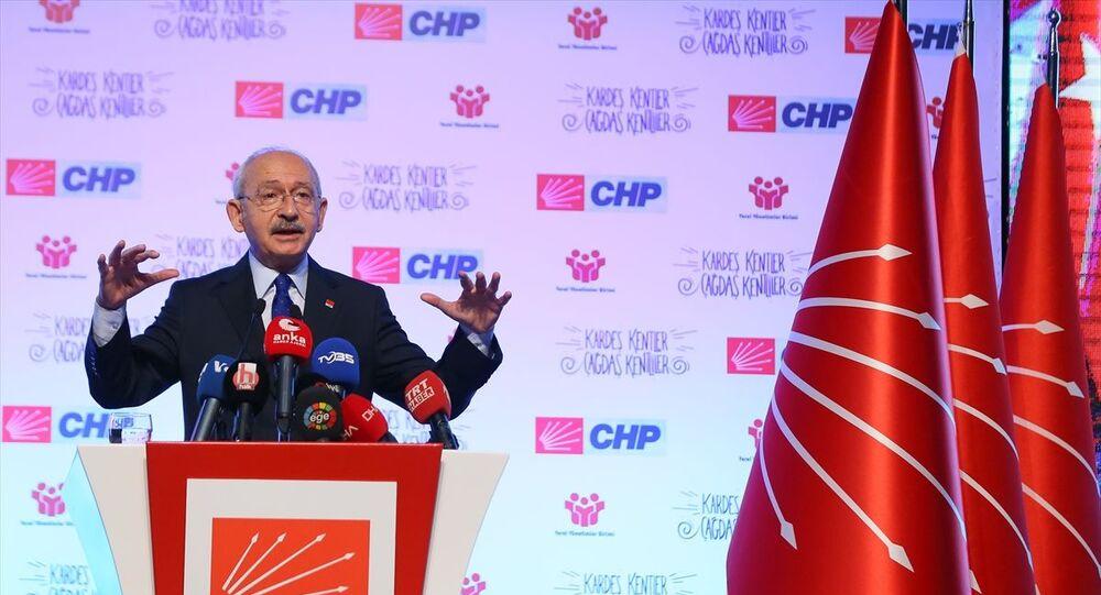 """CHP Genel Başkanı Kemal Kılıçdaroğlu İzmir'de """"Yerel Yönetimler Reformu ve Yerel Demokrasi Buluşması"""" toplantısına katılarak konuşma yaptı."""