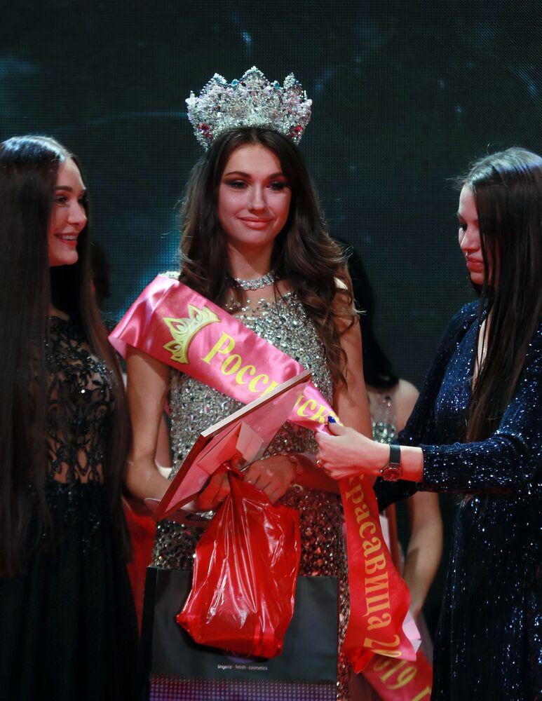 Rusya Güzeli 2019 yarışmasını Alina Rudakova kazandı.