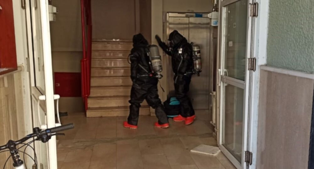 Kimyasal madde ile intihara kalkıştı: 18 kişi hastaneye kaldırıldı
