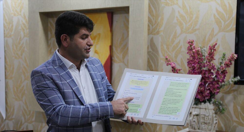 Eski HDP Batman Milletvekili Mehmet Ali Aslan, partisinden istifa etti. Aslan, bir otelde basın toplantısı düzenledi. Aslan, HDP Milletvekili Alican Ünlü ile arasında geçen WhatsApp mesajlarını basınla paylaştı.
