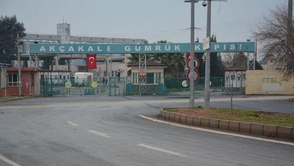 Akçakale Gümrük Kapısı - Sputnik Türkiye