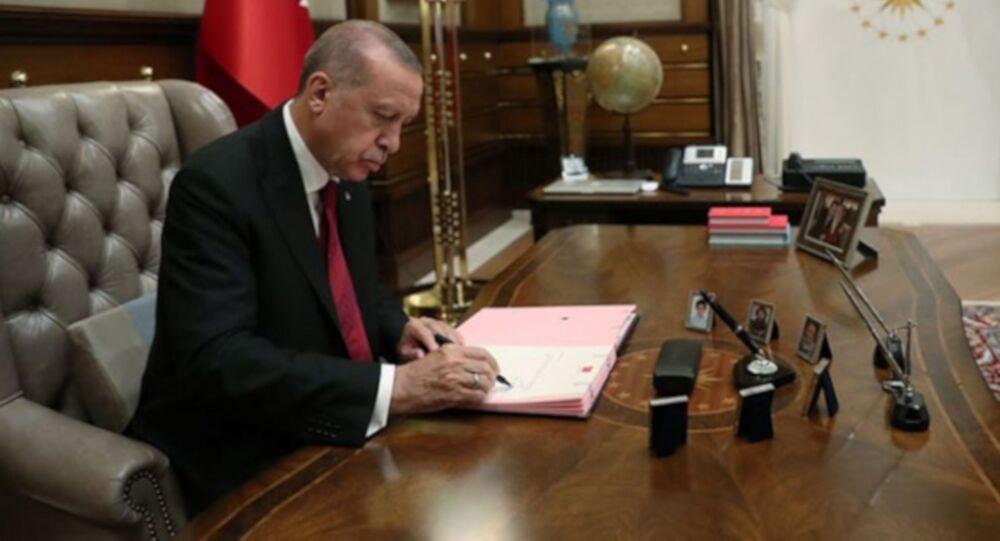 Cumhurbaşkanı Erdoğan, imza, atama