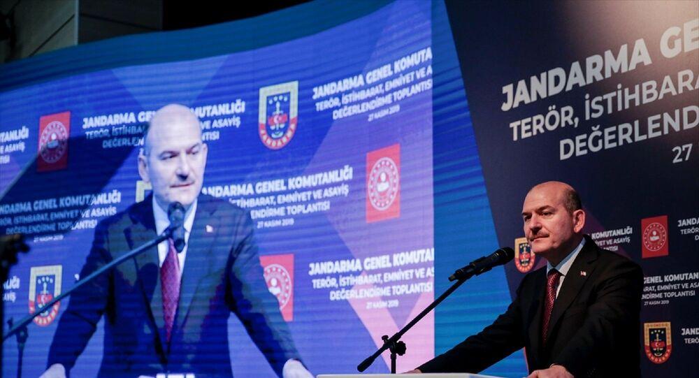 Jandarma Genel Komutanlığı Beştepe Karargahı'nda Jandarma İl Komutanları Toplantısı düzenlendi. Toplantıya, İçişleri Bakanı Süleyman Soylu katıldı.