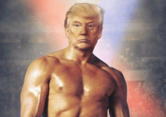 Trump'tan 'Rocky' paylaşımı