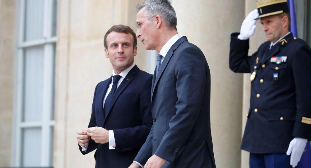 NATO Genel Sekreteri Stoltenberg, Paris'e giderek, 'ittifakın beyin ölümü' açıklaması için Fransa Cumhurbaşkanı Macron'dan açıklama talep etti.