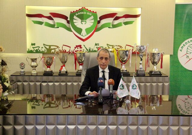 Amedspor Başkanı Metin Kılavuz