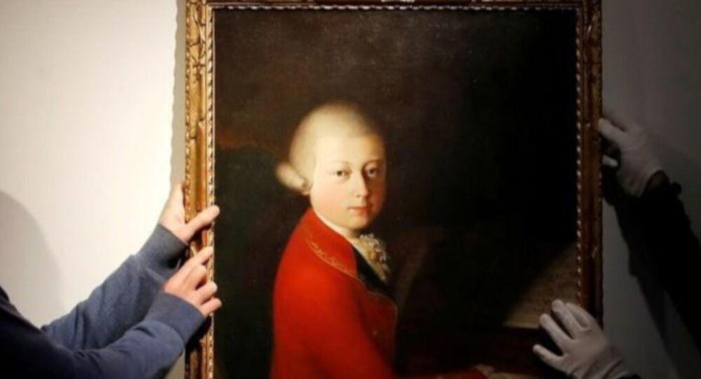 Mozart'ın çocukluk portesi