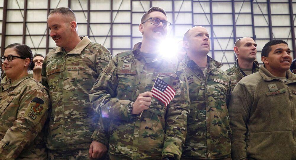 Afganistan'daki ABD askerleri
