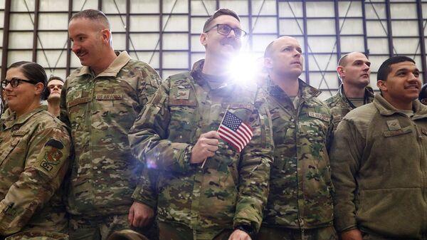 Afganistan'daki ABD askerleri - Sputnik Türkiye