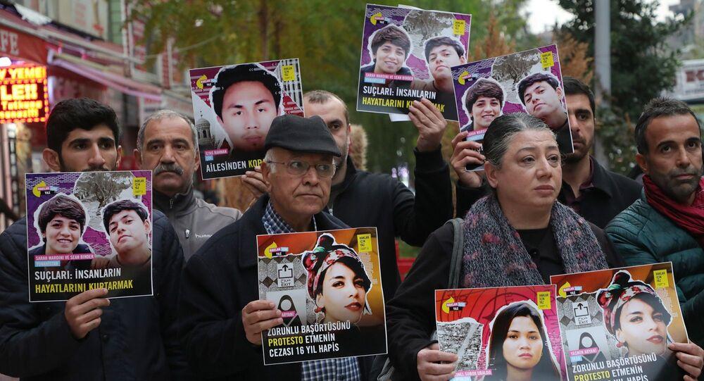 Uluslararası Af Örgütü Haklar İçin Yaz kampanyası kapsamında Diyarbakır'da açıklama yaptı.
