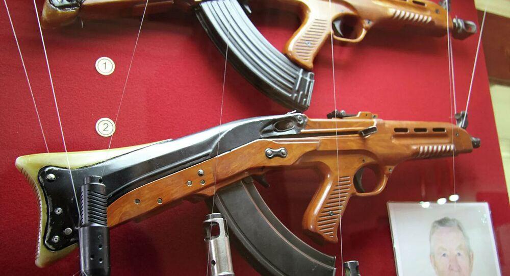 Nikolay M. Afanasyev tarafından geliştirilen Sovyet boğa güreşi saldırı tüfeği TKB-011