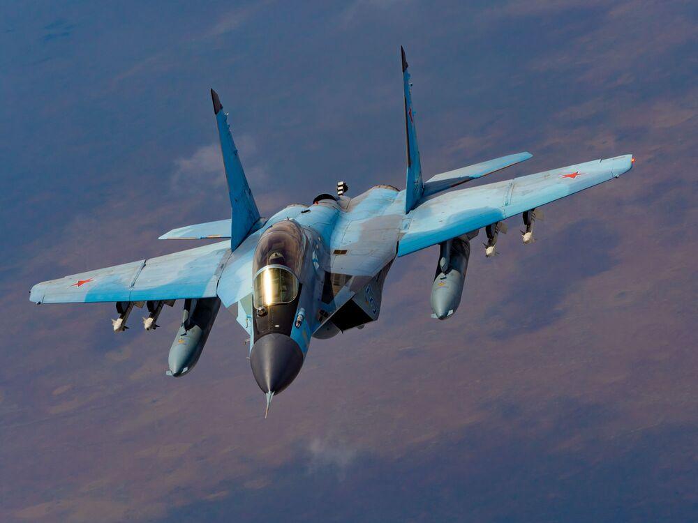 Rus 4.nesil çok amaçlı savaş uçağı MiG-29K.