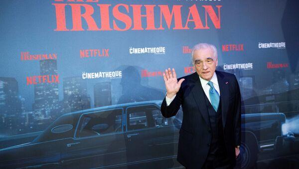 Yönetmen Martin Scorsese, The Irishman filminin galasında - Sputnik Türkiye
