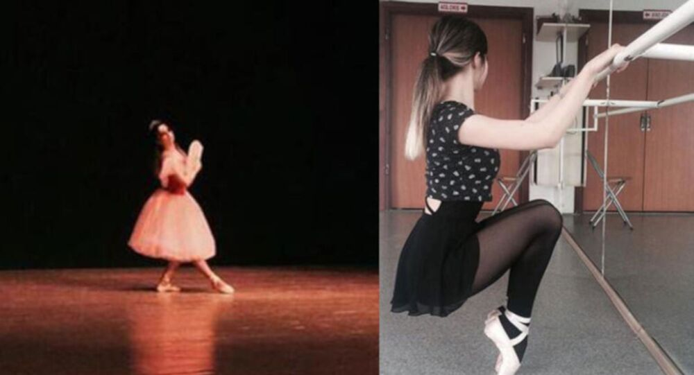 Genç balerin Ceren Özdemir
