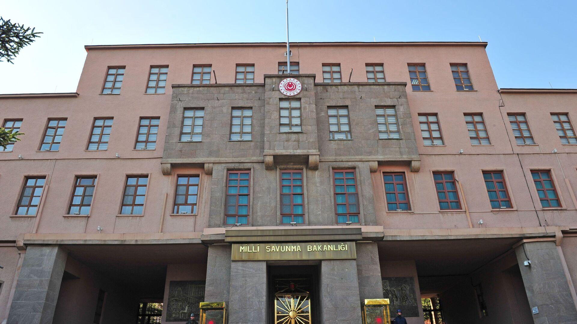 Milli Savunma Bakanlığı (MSB) - Sputnik Türkiye, 1920, 14.04.2021