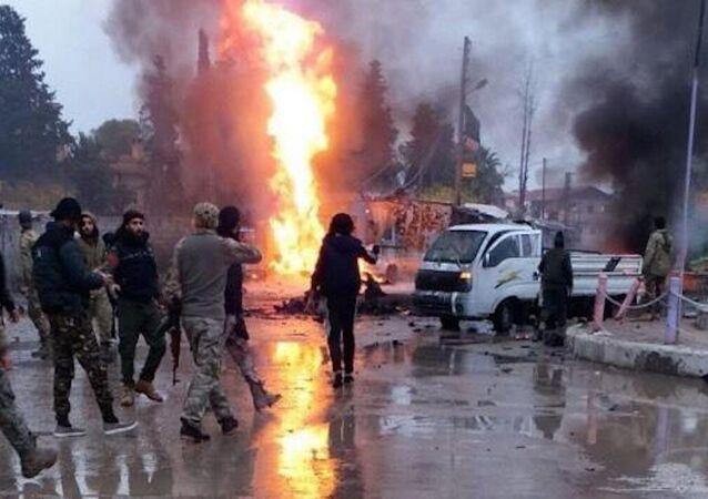 Rasulayn'daki bombalı araç saldırısı