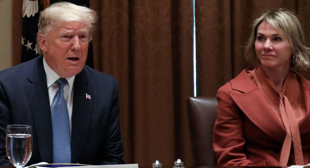 Trump, BM Güvenlik Konseyi (BMGK) üyesi ülkelerin BM Daimi Temsilcileri ile Beyaz Saray'daki öğle yemeğinde bir araya gelerek, gündemi değerlendirdi.