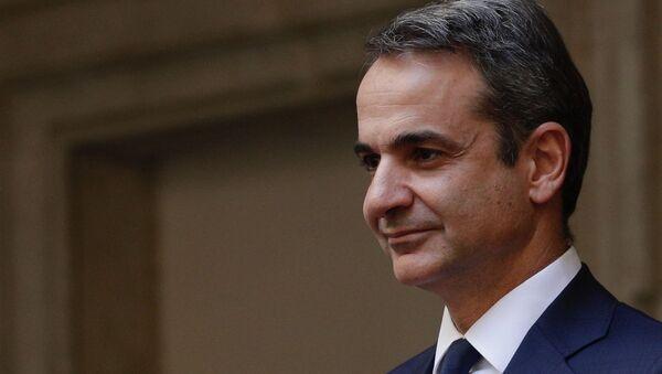 Yunanistan Başbakanı Kiryakos Miçotakis - Sputnik Türkiye