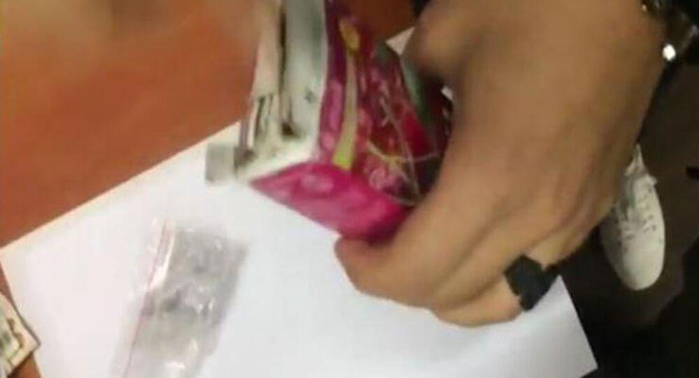 Meyve suyu kutusunda uyuşturucu satan şüpheli tutuklandı