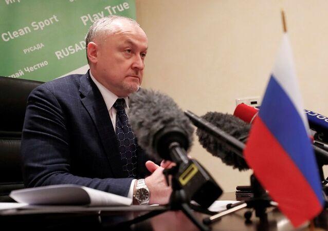 Rusya Dopingle Mücadele Ajansı (RUSADA) Başkanı Yuriy Ganus