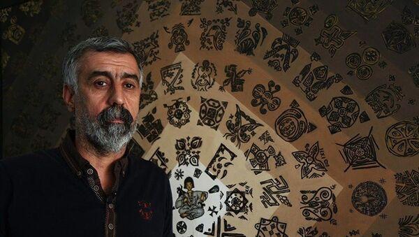 Diyarbakırlı ressam Gökhan Aslan - Sputnik Türkiye