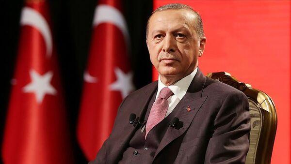 Cumhurbaşkanı Erdoğan, TRT Özel Yayını'nda gündeme dair soruları yanıtladı. - Sputnik Türkiye