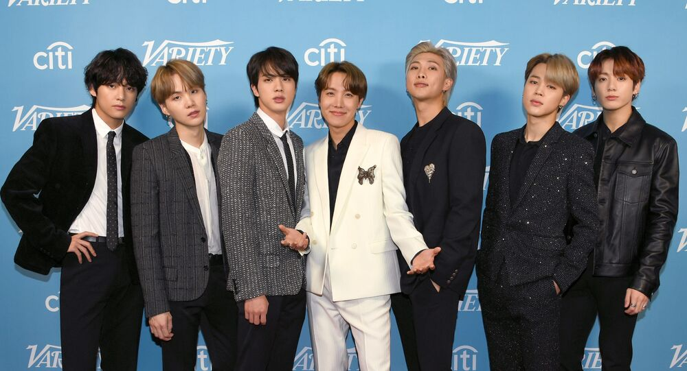 Güney Koreli grup BTS, Variety dergisinin etkinliğinde