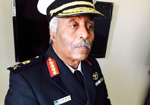 Libya Ulusal Ordusu lideri Halife Hafter'e bağlı donanmanın kurmay Başkanı Ferec el Mahdevi