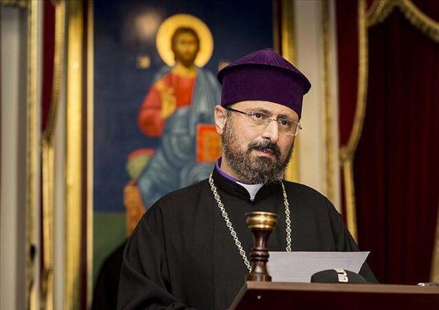 Türkiye Ermenileri Patrik Kaymakamı Episkopos Sahak Maşalyan