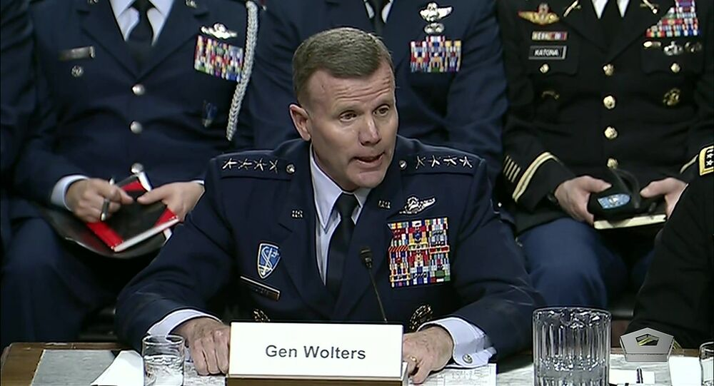Air Force Gen. Tod D. Wolters, the commander of U.S. European Command