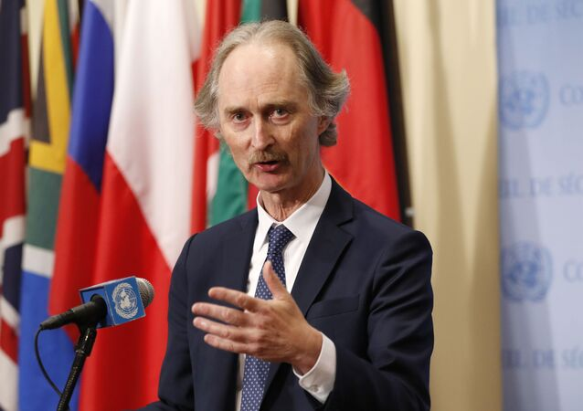 Birleşmiş Milletler (BM) Suriye Özel Temsilcisi Geir O. Pedersen